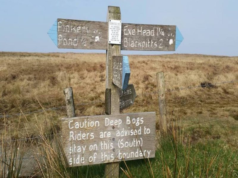 Exmoor Signage T